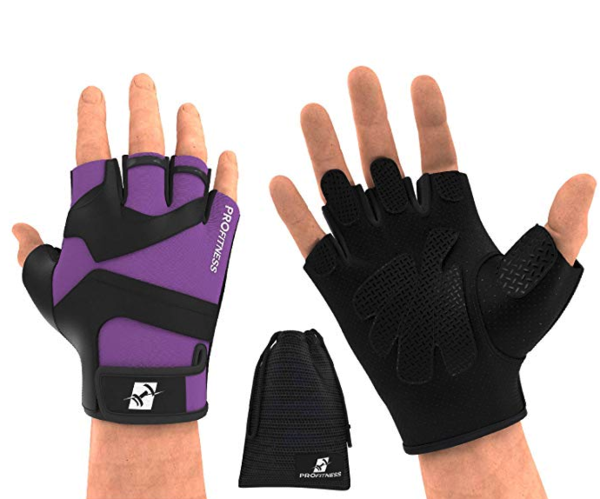 Weight Lifting Gloves with Non-slip Grip - Exercise Earth