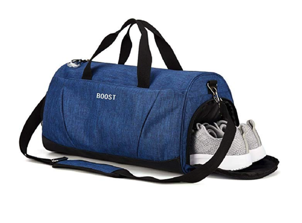 Gym Bag with Shoes Compartment - Exercise Earth