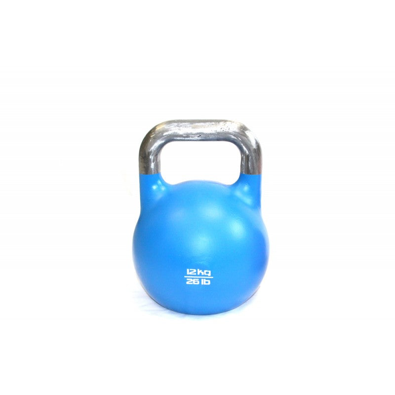 Commercial Steel Kettlebell - 33Mm Handle - Exercise Earth