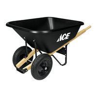 Ace Poly Dual Wheel Wheelbarrow 8 cu. ft.