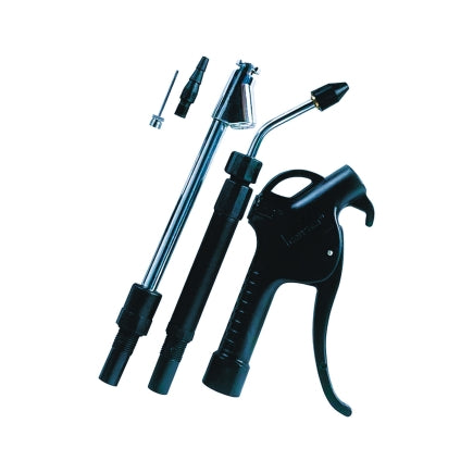 Craftsman 1/4 in. 90 psi Blow Gun Kit Black