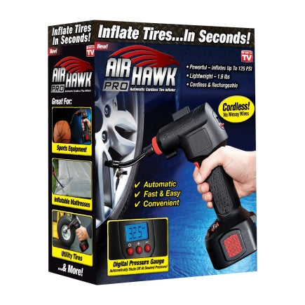 Air Hawk As Seen On TV Vertical Hand-Held Air Compressor 125 psi 1 hp