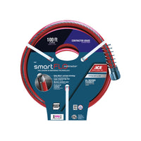 Ace SmartFlo 3/4 in. Dia. x 100 ft. L Contractor Garden Hose Kink Resistant