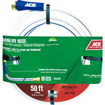 Ace Ace 1/2 Dia. x 25 L White RV/Marine Hose Safe for Drinking Water