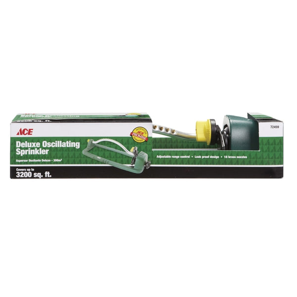 Ace Metal Sled Base Oscillating Sprinkler 3200 sq. ft.