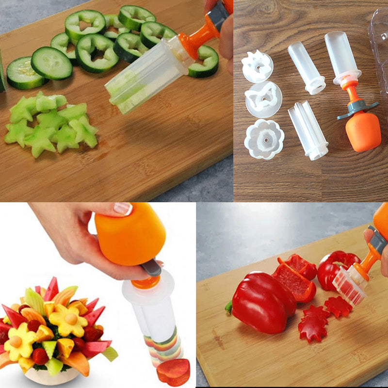1 Set Fruit Salad Carving Decorating Tools Gadget Lovers Store