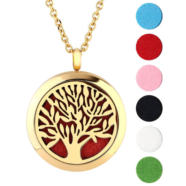 Aromatherapy pendant and necklace with tree of life design aromatherapy pendant and necklace with tree of life design aloadofball Image collections