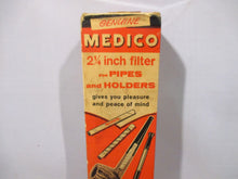 Vintage American Genuine Medico Store display, filter for pipes and holders. Circa 1950