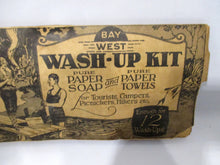 Vintage American Bay West Wash-Up Kit circa 1920