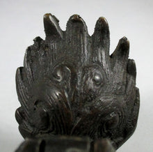 MEIJI PERIOD BRONZE LION FOO DOG INCENSE BURNER