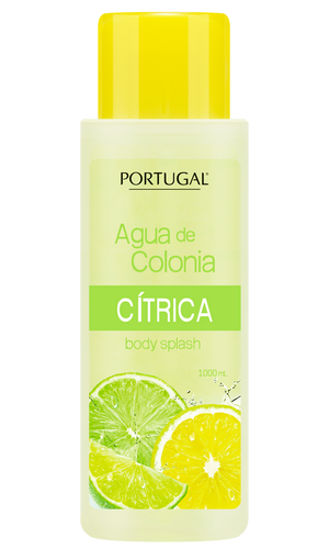 Agua de Colonia Cítrica 1000 ml