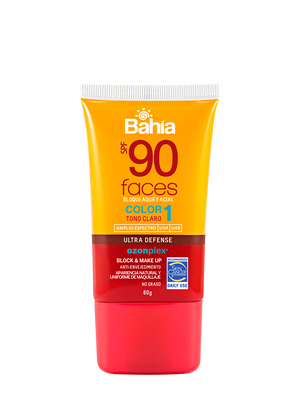 Bahía Faces SPF 90 Color 1 60 g