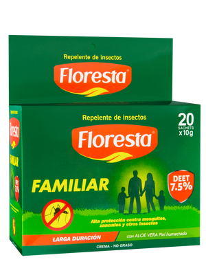 Repelente Floresta Familiar - 20 Sachets de 10 g