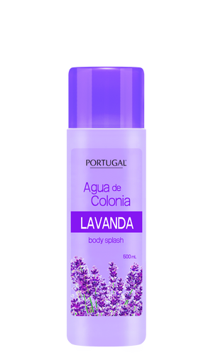 Agua de Colonia Lavanda 500 ml