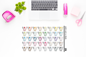 cookware planner stickers (S273)