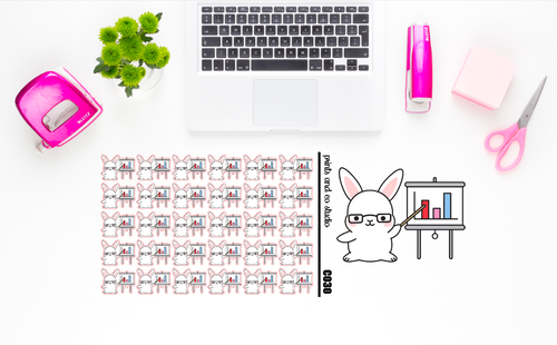 Carrots presents planner stickers (C030)