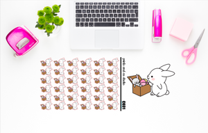 Carrots cleans up planner stickers (C031)