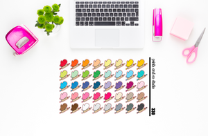 baking supplies planner stickers (S330)