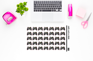 xbox controller planner stickers (S332)