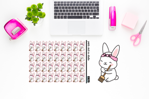 Carrots sweeps planner stickers (C025)