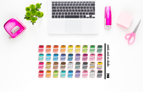 washi tape planner stickers (S248)