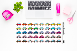 car planner stickers (S203)