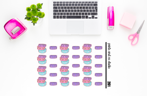 washi tape planner stickers (S261)
