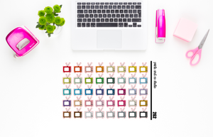 tv planner stickers (S262)