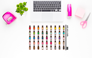 essential oils planner stickers (S265)