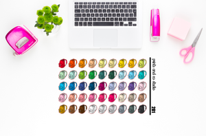 book bag planner stickers (S281)