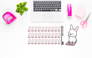 Carrots happy scale planner stickers (C013)