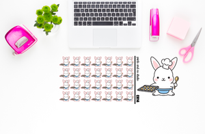 Carrots bakes planner stickers (C014)