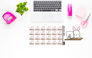 Carrots uses an iMac planner stickers (C009)