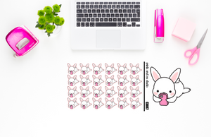 Carrots uses the phone planner stickers (C007)