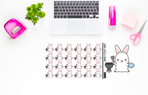 Carrots grills planner stickers (C005)
