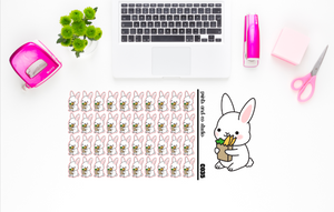 Carrots carries groceries planner stickers (C035)