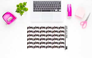 plan script planner stickers (S356)