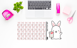 Carrots gets good grades planner stickers (C037)