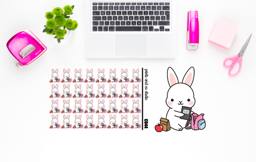 Carrots packs book bag  planner stickers (C044)