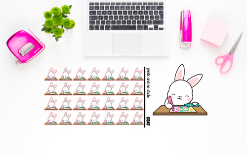 Carrots draws/colors planner stickers (C047)