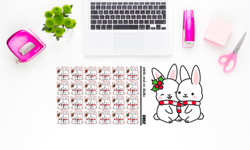 Carrots cuddles planner stickers (C052)