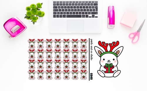 Carrots with a present planner stickers (C049)