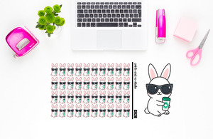 Carrots drinks coffee planner stickers (C028)