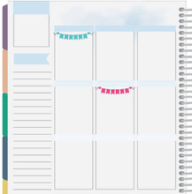 single day banner stickers for planners