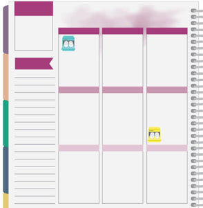 dishwasher planner stickers
