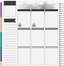 happy mail boxes planner stickers
