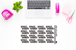 binge watch script planner stickers (S106)