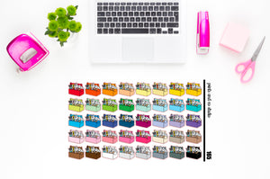 toolbox planner stickers (S165)