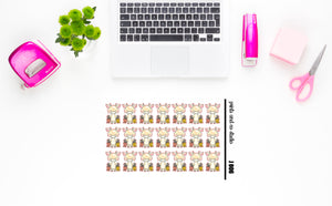 Jeff shops planner stickers (J006)
