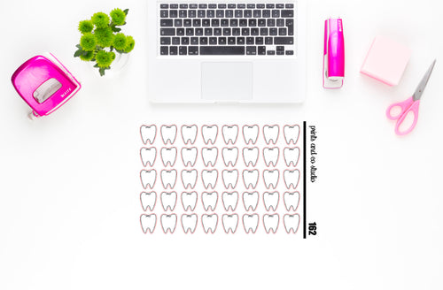 teeth planner stickers (S162)